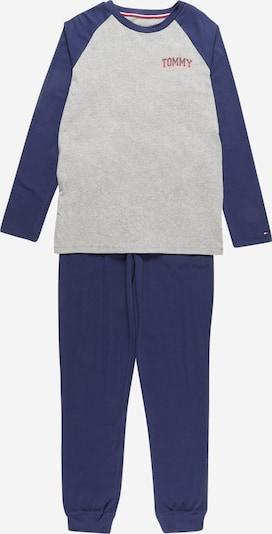 Pijamale Tommy Hilfiger Underwear pe bleumarin / gri / corai, Vizualizare produs