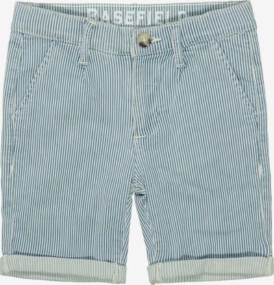 BASEFIELD Hose in hellblau / weiß, Produktansicht
