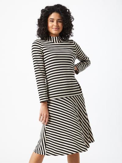 InWear Šaty 'Hubert' - čierna / biela, Model/-ka