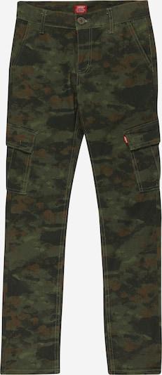 LEVI'S Hose in kobaltblau / dunkelbraun / oliv / dunkelgrün, Produktansicht