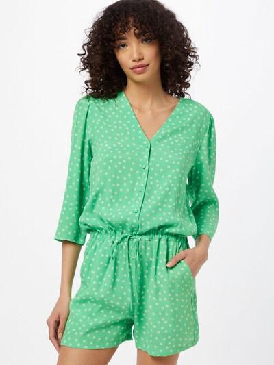 modström Jumpsuit 'Jessica' in Light green / Black / White, View model