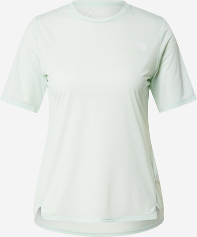 THE NORTH FACE T-Shirt in mint / weiß, Produktansicht