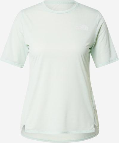 THE NORTH FACE T-shirt fonctionnel en menthe / blanc, Vue avec produit