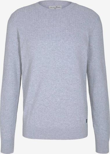 TOM TAILOR DENIM Pullover & Strickjacken Hemd mit Streifenmuster in grau, Produktansicht