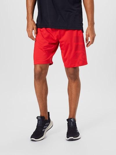ADIDAS PERFORMANCE Sportovní kalhoty - světle červená / černá, Model/ka
