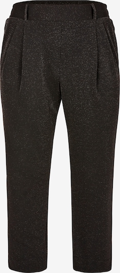 Pantaloni con pieghe Rock Your Curves by Angelina K. di colore nero / argento, Visualizzazione prodotti