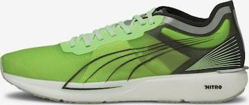 Chaussure de course PUMA en vert
