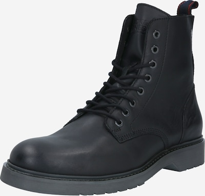 JACK & JONES Veterboots 'Norse' in de kleur Antraciet, Productweergave