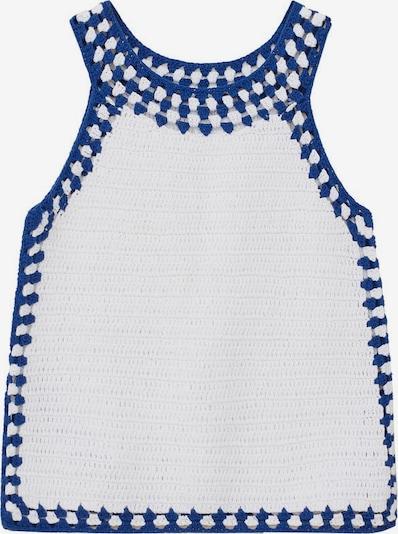MANGO KIDS Top 'Molly' in de kleur Blauw / Wit, Productweergave