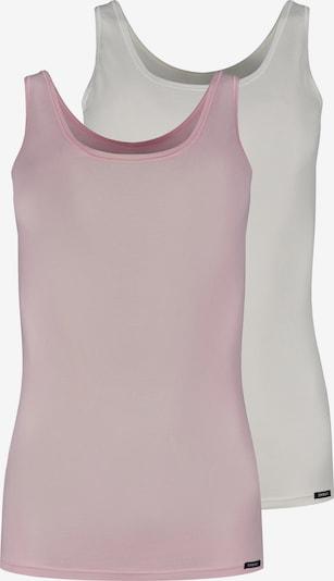 Skiny Onderhemd in de kleur Rosa / Wit, Productweergave