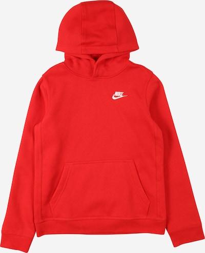Felpa Nike Sportswear di colore rosso / bianco, Visualizzazione prodotti