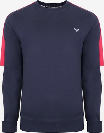 Threadbare Sweat-shirt en bleu / rouge / blanc, Vue avec produit