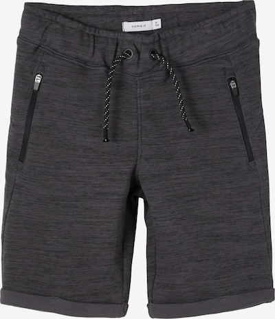 NAME IT Sweatshorts in graumeliert, Produktansicht