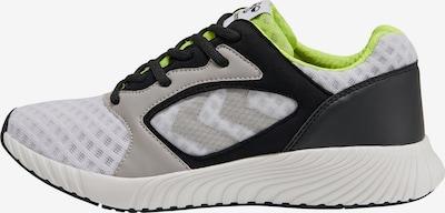 Hummel Sneaker in gelb / hellgrau / schwarz / weiß, Produktansicht