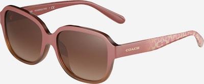 COACH Sonnenbrille '0HC8298U' in hellbraun, Produktansicht