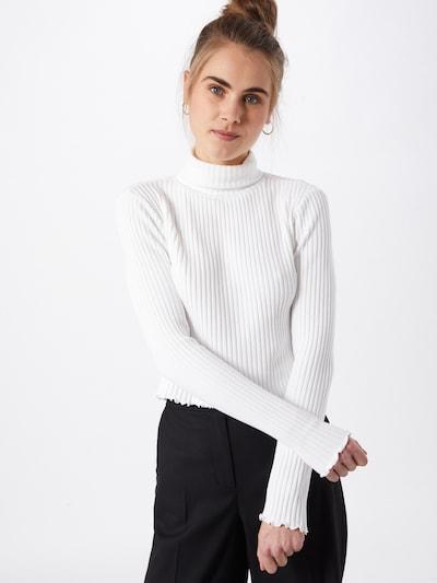 Gina Tricot Majica 'Wilja' u bijela, Prikaz modela