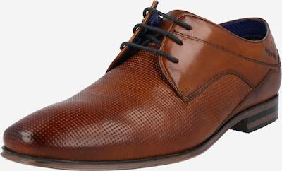 bugatti Chaussure à lacets en cognac, Vue avec produit