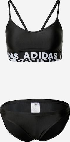 ADIDAS PERFORMANCE Sportsbikini i svart