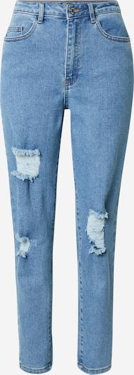 Jeans Missguided pe albastru denim, Vizualizare produs