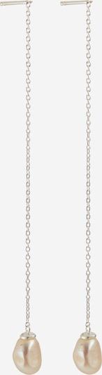 Pernille Corydon Jewellery Oorbellen 'Lagoon' in de kleur Zilver / Parelwit, Productweergave