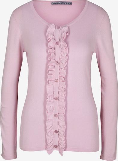 heine Strickjacke in rosa: Frontalansicht