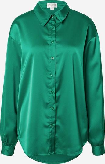 In The Style Bluse 'NAOMI GENES' in grasgrün, Produktansicht