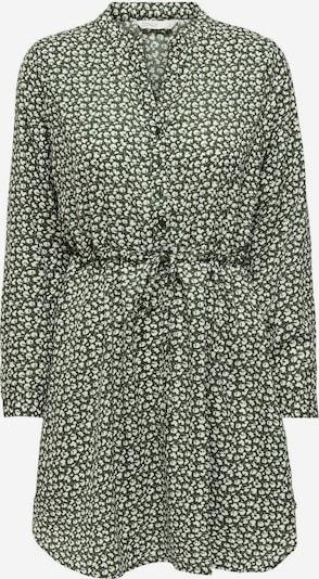 ONLY Kleid 'Cory' in grün / weiß, Produktansicht