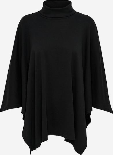 JACQUELINE de YONG Poncho in schwarz, Produktansicht