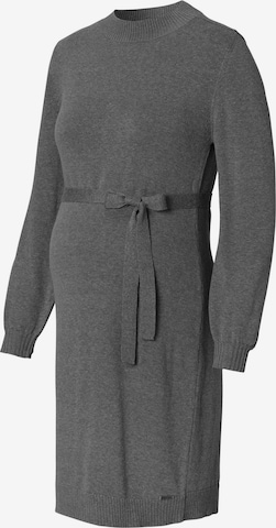 Esprit Maternity Strickkleid in Grau