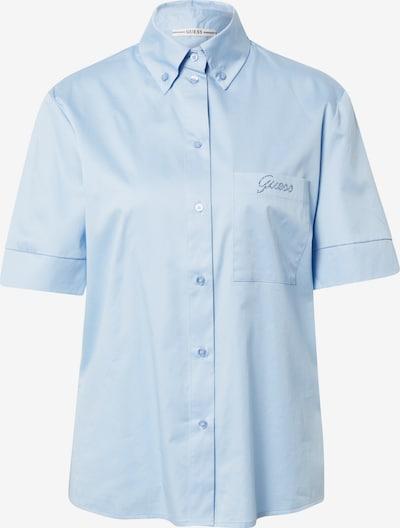 GUESS Chemisier 'GILBERTA' en bleu clair, Vue avec produit