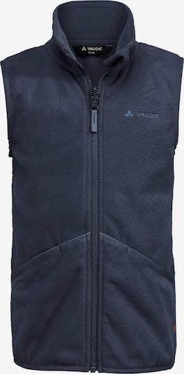 VAUDE Fleeceweste 'Pulex' in dunkelblau, Produktansicht