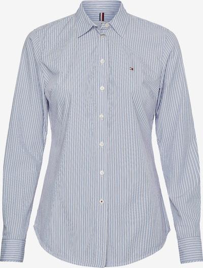 TOMMY HILFIGER Bluse in blau / rot / weiß, Produktansicht
