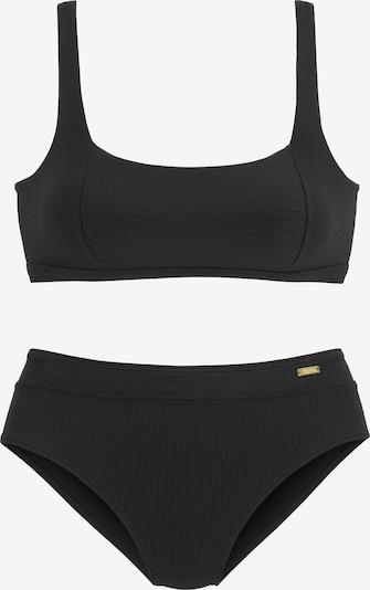 BUFFALO Bikini en noir, Vue avec produit