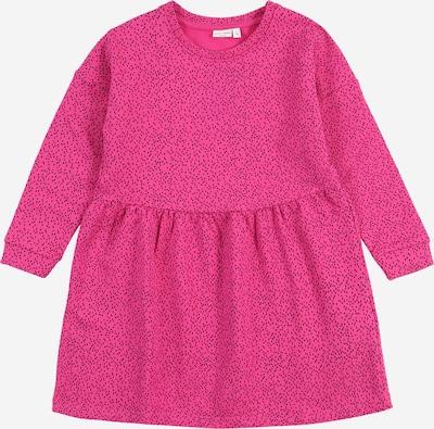 NAME IT Kjole 'VOLTA' i pink / sort: Frontvisning