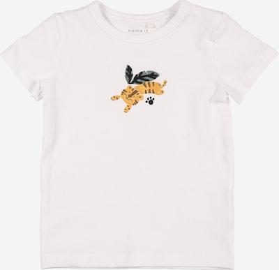 NAME IT T-Shirt 'James' in gelb / grün / weiß, Produktansicht