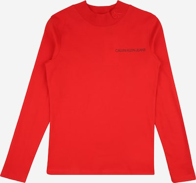 Calvin Klein Jeans Shirt in rot / schwarz, Produktansicht