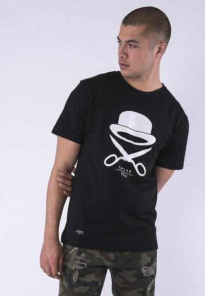 Cayler & Sons T-Shirt en noir / blanc: Vue de face