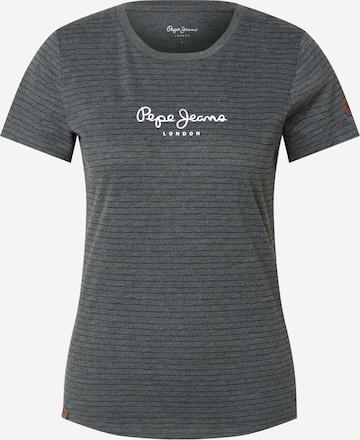 Pepe Jeans Tričko 'MAHSA' - Sivá