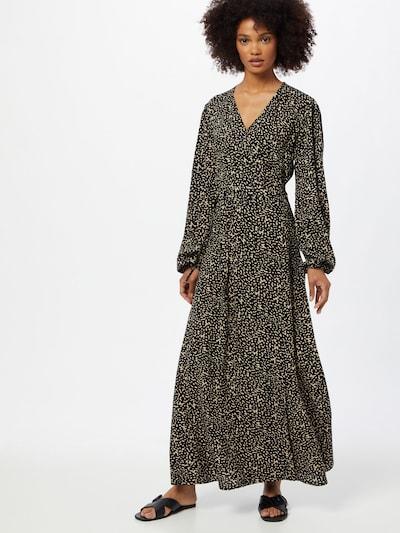 Rochie tip bluză Kauf Dich Glücklich pe maro cămilă / negru, Vizualizare model
