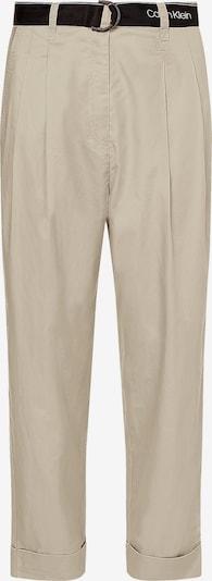 Calvin Klein Hose in beige / schoko, Produktansicht