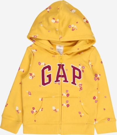GAP Sweatshirt in gelb / mauve / weiß, Produktansicht