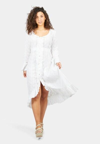 Isla Ibiza Bonita Kleid in weiß, Modelansicht