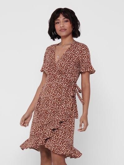 ONLY Kleid 'OLIVIA' in rot / weiß, Modelansicht