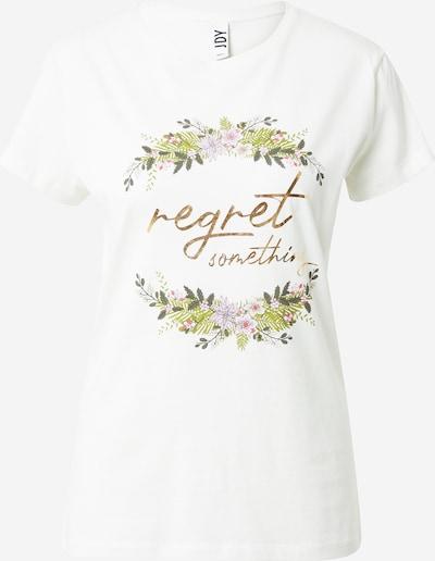 JDY Μπλουζάκι 'KLARA' σε ανάμεικτα χρώματα / φυσικό λευκό, Άποψη προϊόντος