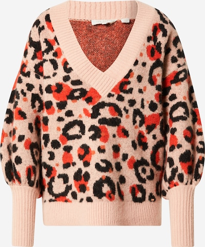 Ted Baker Sweater 'Alicina' in Coral / Red / Black, Item view