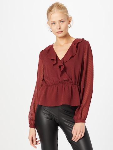 Camicia da donna 'Enie' di ABOUT YOU in rosso
