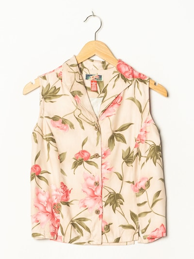 La Cabana Blumenbluse in S-M in nude, Produktansicht