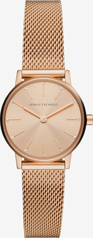 ARMANI EXCHANGE Analog Watch in Gold