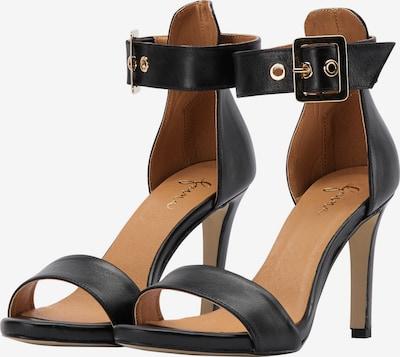 faina Sandalen in schwarz, Produktansicht