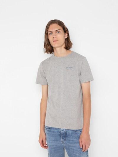 Scalpers T-shirt i blå / gråmelerad / röd: Sedd framifrån